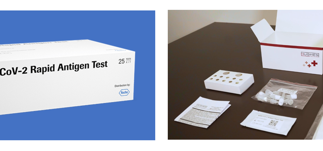 Rapid Lateral Flow Test Kits – Roche vs Hughes
