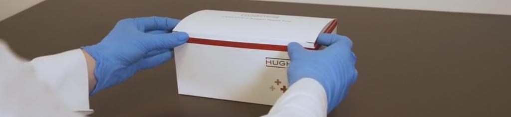 Covid Rapid Antigen Test Kit From Hughes Healthcare
