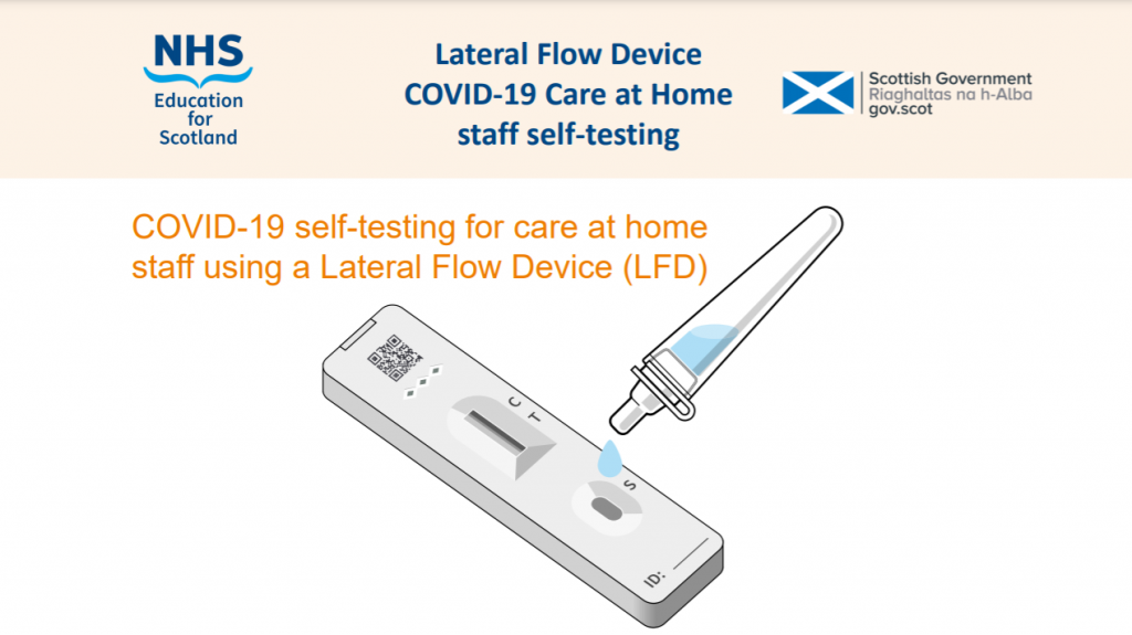 NHS Scotland Lateral Flow Device Presentation