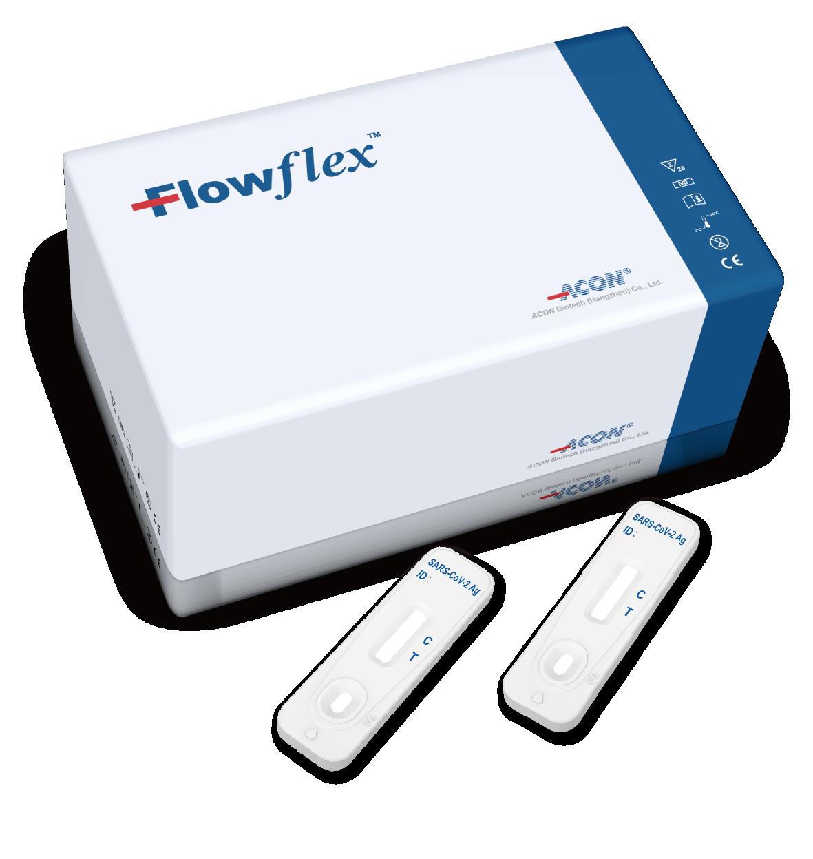 ACON Flowflex SARS-CoV-2 Antigen Rapid Test (Self-Testing)